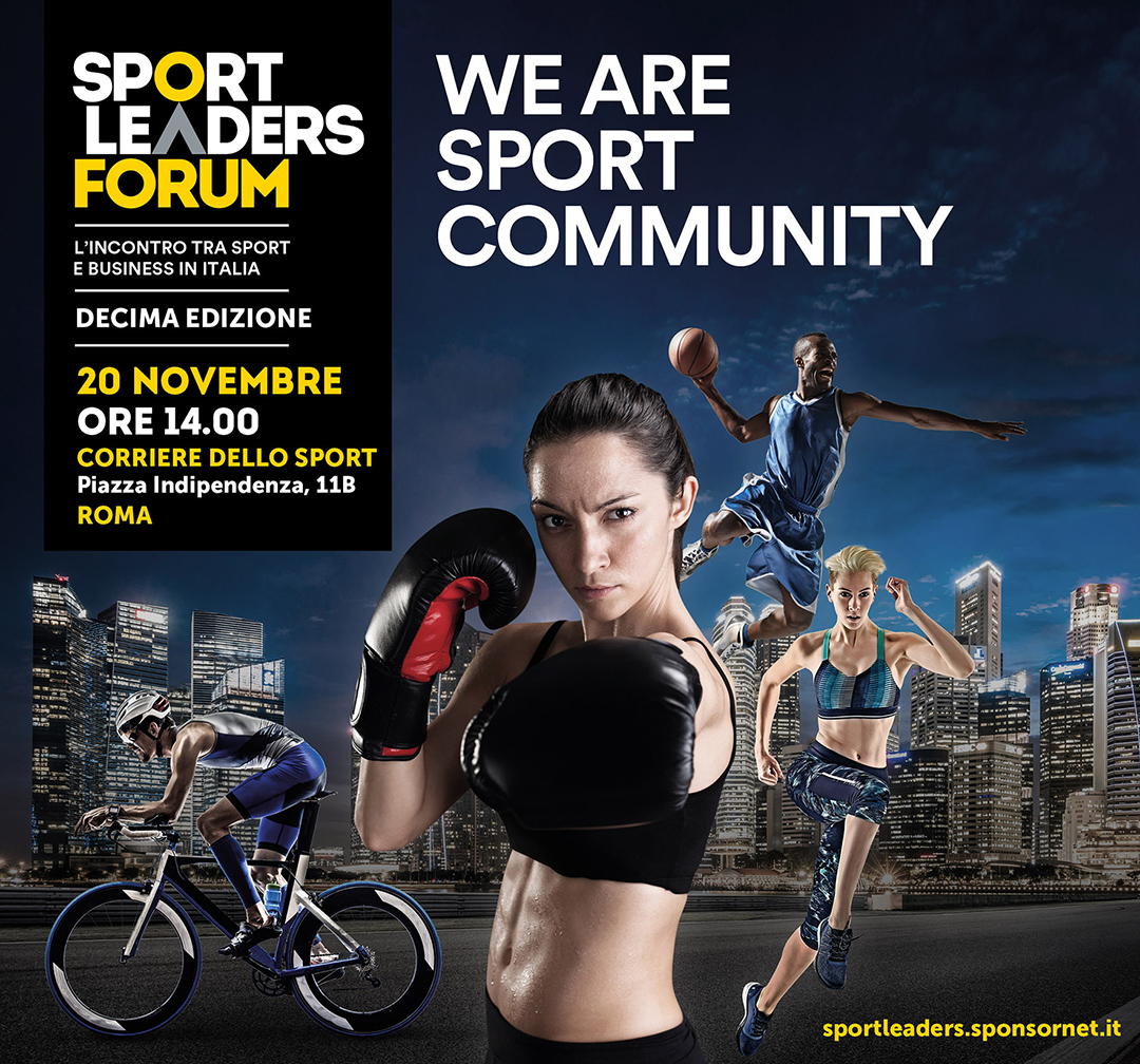 WE ARE SPORT COMMUNITY 20 NOVEMBRE 2018